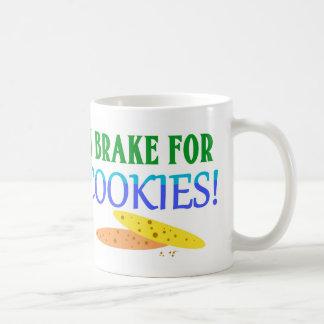 I Brake For Cookies! Coffee Mug