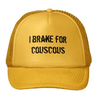 I Brake for Couscous Trucker Hat