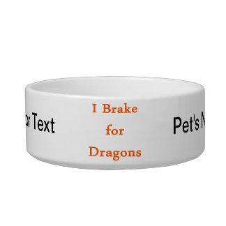 I brake for dragons orange bowl