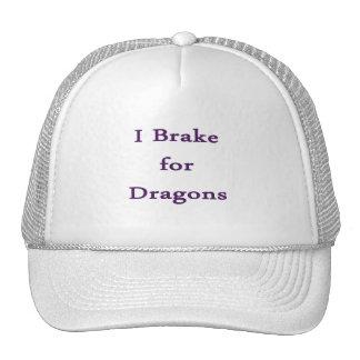 I brake for dragons purple mesh hats