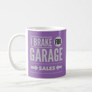 I Brake For Garage Sales Mug