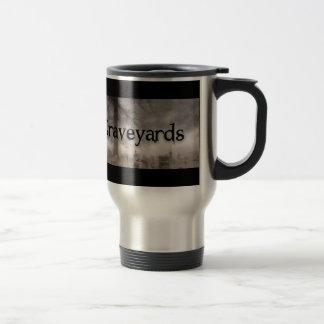 I Brake For Graveyards 15 Oz Stainless Steel Travel Mug