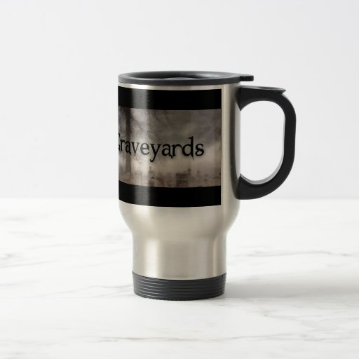 I Brake For Graveyards Mug