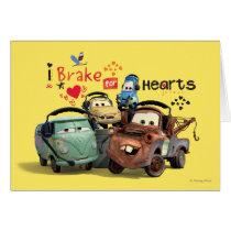 I Brake for Hearts Card