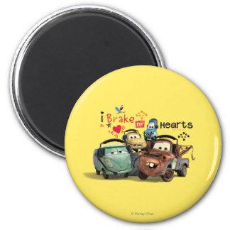 I Brake for Hearts Magnet