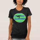 I Brake for Kangaroos ladies twofer t-shirt