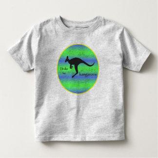 I Brake for Kangaroos toddler tee