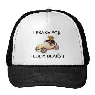 I BRAKE FOR TEDDY BEARS HAT