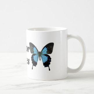 I break for butterflies coffee mug