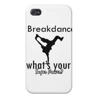 I Breakdance cuál es su superpoder iPhone 4/4S Carcasa