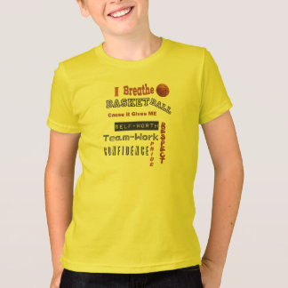 i breathe basketball T-Shirt