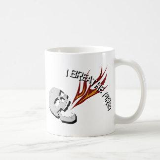 I Breathe Fire! Classic White Coffee Mug