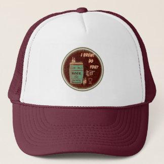 I Brew Do You? Graphic Logo 3 Trucker Hat