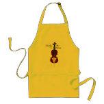 I Broke My G String (Cello) Adult Apron