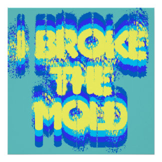 I Broke the Mold poster