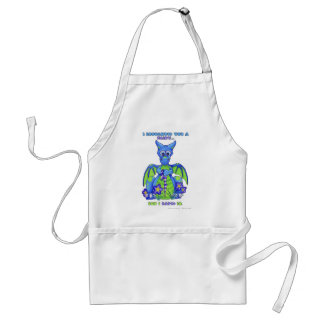 I Broughted You a Fairy, But I Eated It Adult Apron