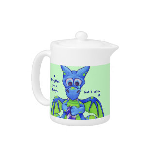 I broughted you a Fairy... Little Wings Dragon Teapot