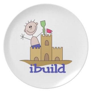 I Build Dinner Plate