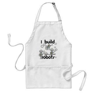 I Build Robots Adult Apron