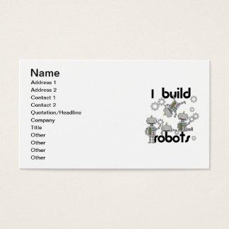 I Build Robots Business Card