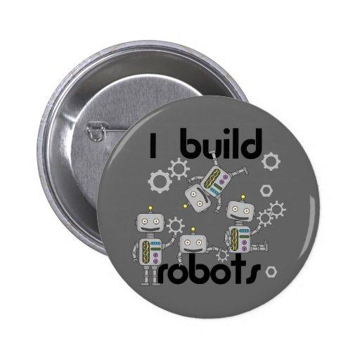 I Build Robots Pins