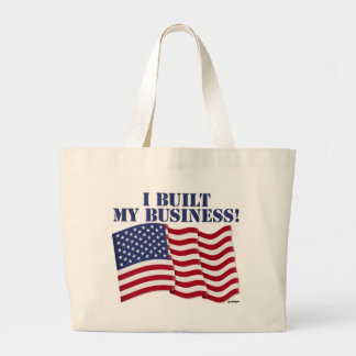 I BUILT MY BUSINESS! CANVAS BAGS