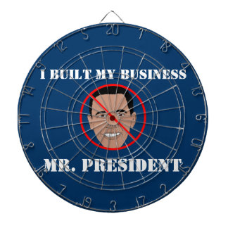 I BUILT MY BUSINESS DARTBOARD