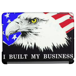 I Built My Business Obama iPad Air Cases