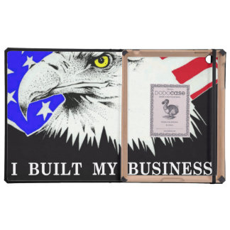 I Built My Business Obama iPad Cover