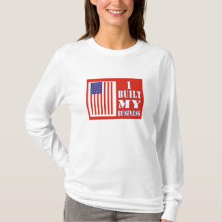 I Built My Business Political US Flag Shirt
