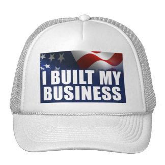 I Built MY Business Trucker Hat