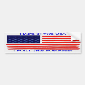 I Built This Business Made in the USA Sticker