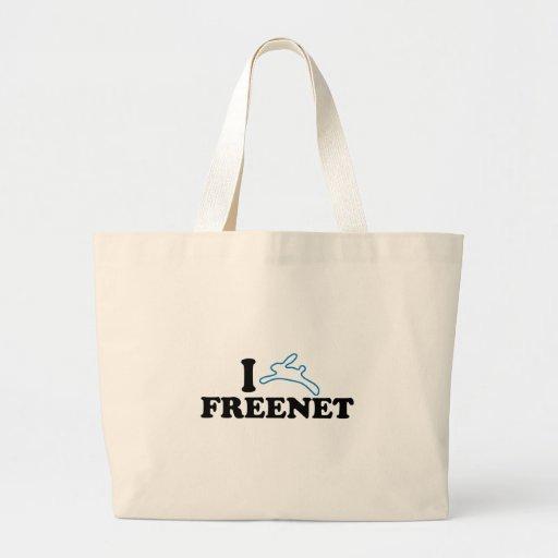 I Bunny Freenet Bags