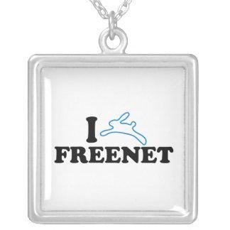 I Bunny Freenet Personalized Necklace