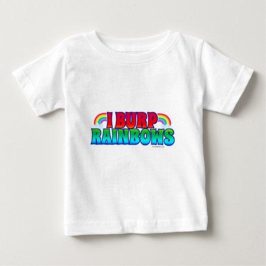 I Burp Rainbows Baby T-Shirt