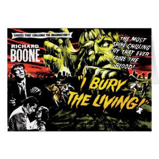 """I Bury the Living"" (1958) Card"