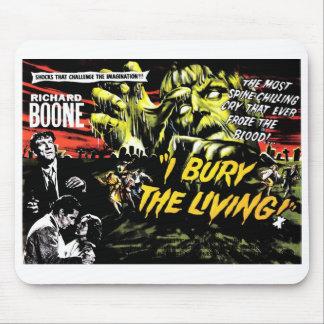 """I Bury the Living"" (1958) Mousepad"