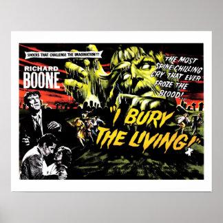 """I Bury the Living"" (1958) Poster"