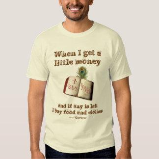 I Buy Books Tee Shirt