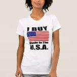 I Buy Made in the U.S.A. - Ladies Casual Scoop Tees