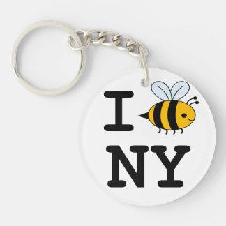 I Buzz New York Key chain