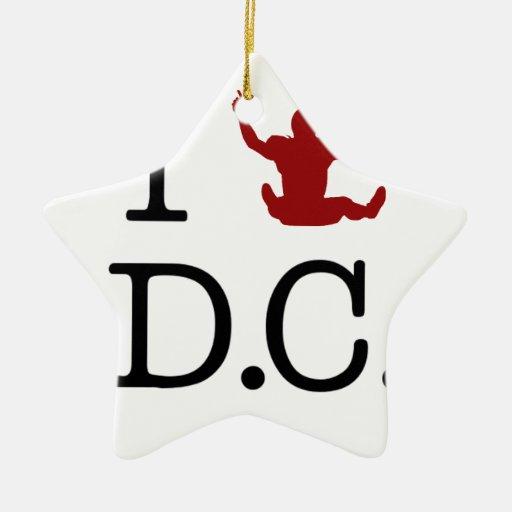 I C.C. de Griffining (amor) Ornamento Para Arbol De Navidad