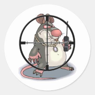 I C Snitchez Classic Round Sticker