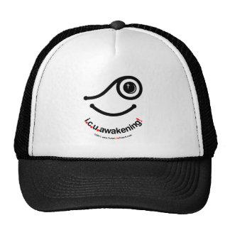 i c u awakening! trucker hat