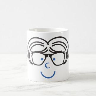 """""""I C U"""" Nerd Girl Coffee Mug"""