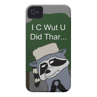 I C Wut U Did Thar Blackberry Bold case