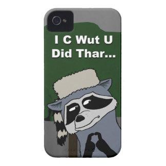 I C Wut U Did Thar iPhone 4 case