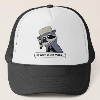I C Wut U Did Thar Trucker Hat