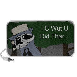 I C Wut U hizo el altavoz de Thar