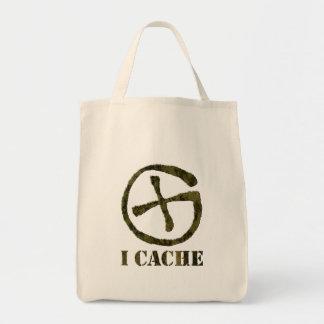 I CACHE swag bag